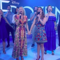 VIDEO: Caissie Levy and Patti Murin Perform FROZEN Finale 'Let It Go' on TODAY