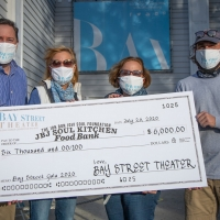 Bay Street Presents $6,000 Check To JBJ Soul Kitchen Food Bank Photo