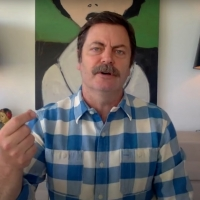 VIDEO: Nick Offerman Surprises Kelly Clarkson With an Incredible Handmade Gift Photo