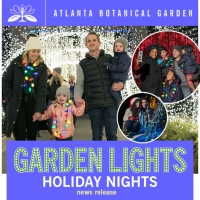 Tickets to go on Sale in October for 10th Annual 'Garden Lights, Holiday Nights' Photo