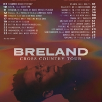 Breland Goes 'Cross Country' on First-Ever Headline Tour Photo