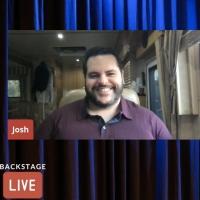 VIDEO: CENTRAL PARK's Josh Gad Visits Backstage LIVE with Richard Ridge- Watch Now! Photo