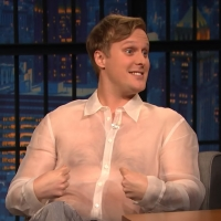 VIDEO: John Early Talks About Officiating Amy Schumer's Wedding on LATE NIGHT WITH SE Photo
