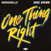 Marshmello & Kane Brown Reveal New Video For ONE THING RIGHT