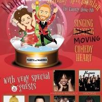 Marty Thomas and Marissa Rosen Host Holiday Spectacular on YouTube Live Photo