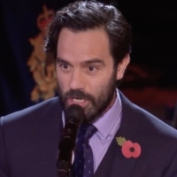 VIDEO: Ramin Karimloo Performs 'I Vow to Thee, My Country' at the Royal British Legio Photo