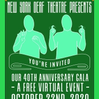 New York Deaf Theatre Announces 40th Anniversary Virtual Gala Photo