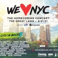 Cynthia Erivo, Jennifer Hudson, Bruce Springsteen & More to Perform at WE LOVE NYC: THE HO Photo