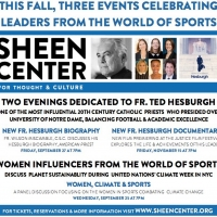 This Fall, Sheen Center Presents Events Celebrating Fr. Ted Hesburgh, And Women In Sp Photo