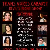 TRANS VOICES CABARET Presents Devil's Night Show Photo