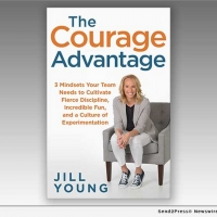 Jill Young Releases New Book THE COURAGE ADVANTAGE: 3 Mindsets Your Team Needs To Cu Photo