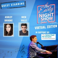 VIDEO: Ashley Brooke and Nick Valle Join Joshua Turchin's THE EARLY NIGHT SHOW Photo