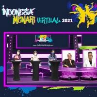INDONESIA MENARI VIRTUAL 2021 by INDONESIA KAYA Crowned Winning Dancers Photo