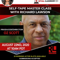 Richard Lawson Studios Master Class Series Welcomes Producer/Director Oz Scott Photo