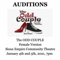 Sioux Empire Community Theatre Announces Auditions for THE ODD COUPLE Photo