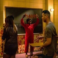 VIDEO: Lupita Nyong'o Visits 'Halloween Horror Nights' to Experience the US Maze and Reprise Her Role