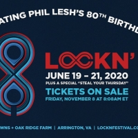LOCKN' Announces 8th Annual Event to Celebrate Phil Lesh's 80th Birthday