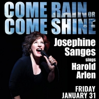 Josephine Sanges Sings Harold Arlen in COME RAIN OR COME SHINE At The Magnolia Room Photo