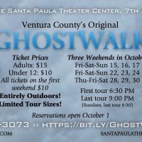 GHOSTWALK Announced at Santa Paula Theater Center Photo