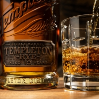TEMPLETON DISTILLERY Launches Entrepreneur's Grant Program and 10 Year Reserve Rye Wh Photo