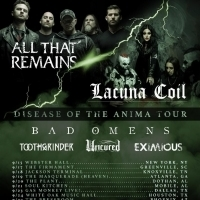 Lacuna Coil and All That Remains Announce Co-Headline Tour
