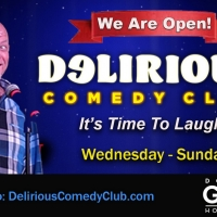 Delirious Comedy Club Continues to Bring Live Comedy to Las Vegas While Working Withi Photo