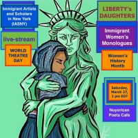 IASNY and The Nuyorican Poets Cafe Present LIBERTY's DAUGHTERS - Immigrant Women's Mo Photo