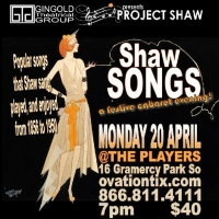 Gingold Theatrical Group Cancels Previously Announced SHAW SONGS @ THE PLAYERS Photo