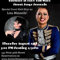 Billy Lykken Will Appear Live at Don't Tell Mama With Special Guest Rick Skye as Liza Photo
