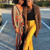 Black Panther Actress Carrie Bernans and MTV Personality Candace Renee Rice Launch 3rd Yea Photo