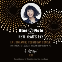 HIROMI'S BLUE NOTE NEW YORK NEW YEAR'S EVE COUNTDOWN Streaming Concert Announced Photo