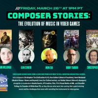 COMPOSER STORIES: THE EVOLUTION OF MUSIC IN VIDEO GAMES Panel Comes to Wondercon 2021 Photo