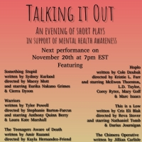 TALKING IT OUT Virtual Arts Festival to Present Six New Short Plays This November Photo
