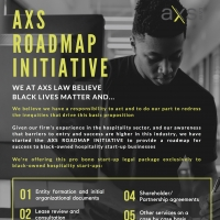 AXS LAW GROUP to Provide Pro Bono Services for Black-Owned Hospitality Start-Ups Photo