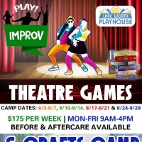 Lake Worth Playhouse Keeps Camp Rolling with Theatre Games and Crafts Photo