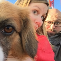 BWW Backstage Pets: Glow Lyric Theatre's CHRISTIAN AND JENNA ELSER and Their Pets