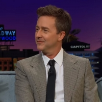 VIDEO: Edward Norton Talks About Being a Pilot on THE LATE LATE SHOW WITH JAMES CORDE Video