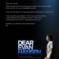 Photo Flash: Check out the New Poster for the DEAR EVAN HANSEN Movie Photo