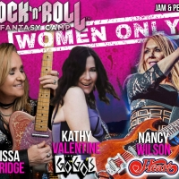 Melissa Etheridge, Nancy Wilson, Kathy Valentine and Orianthi Join Together at First Photo