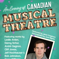 Jakob Creighton to Present A Virtual Evening Of Canadian Musical Theatre Photo