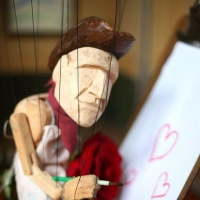 Send a Valentine Puppet-Gram from the Chicago International Puppet Theater Festival Photo