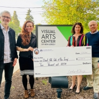 VACANJ Summit Elks Makes Donation To The Visual Arts Center Of New Jersey Photo