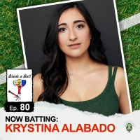 Krystina Alabado Talks Baseball and Broadway On BREAK A BAT! Photo