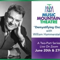 Music Mountain Theatre to Host DEMYSTIFYING OSCAR with William Hammerstein IIIrstein III