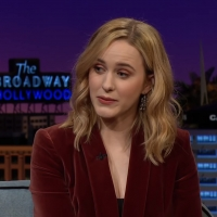 VIDEO: Rachel Brosnahan Shares a Throwback Photo on THE LATE LATE SHOW WITH JAMES COR Video