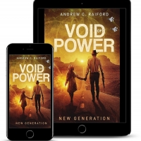 Andrew C. Raiford Releases New Novel VOID OF POWER: NEW GENERATION Photo