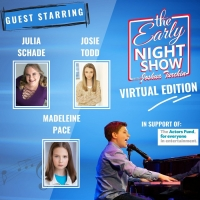 VIDEO: Joshua Turchin's THE EARLY NIGHT SHOW Features SIX Musical Director Julia Schade & Photo