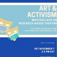 Art And Activism Masterclass COVID MONOLOGUES Announced Photo