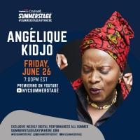 Angéliquie Kidjo Digital Performance Presented By SummerStage Anywhere Tomorrow Photo