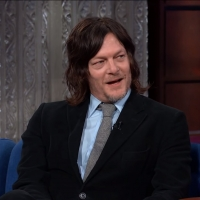VIDEO: Norman Reedus Talks About His Famous Cat on THE LATE SHOW WITH STEPHEN COLBERT